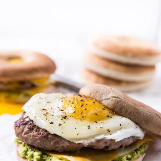 Homemade Turkey Sausage Breakfast Sandwich