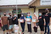 Apdesi Soppeng Serahkan Bantuan di Majene di Sambut Hangat Lurah Pangaliali Kecamatan Banggai