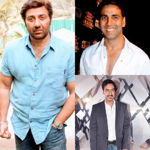 Sani, Akshay, Ajay