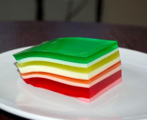 Rainbow Jell-o Recipe