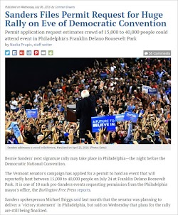 20160706_1800 Sanders Files Permit Request for Huge Rally on Eve of Democratic Convention.jpg