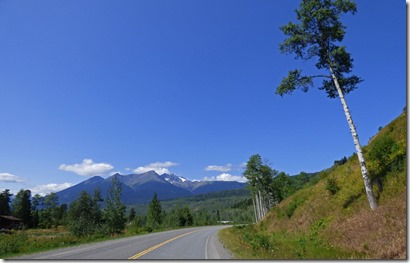 Cassiar Highway near Kitwanga