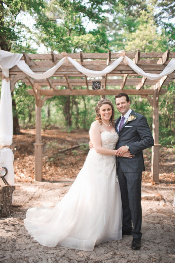 Rustic First Landing State Park Wedding Tidewater And