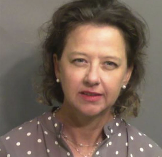 Police release mugshot of district attorney, Jackie Johnson, arrested for her role in covering up the murder of Ahmaud Arbery