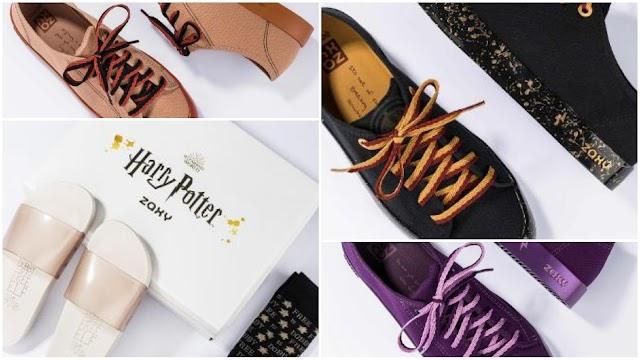 Marca lança coleção de calçados do universo de Harry Potter; veja peças