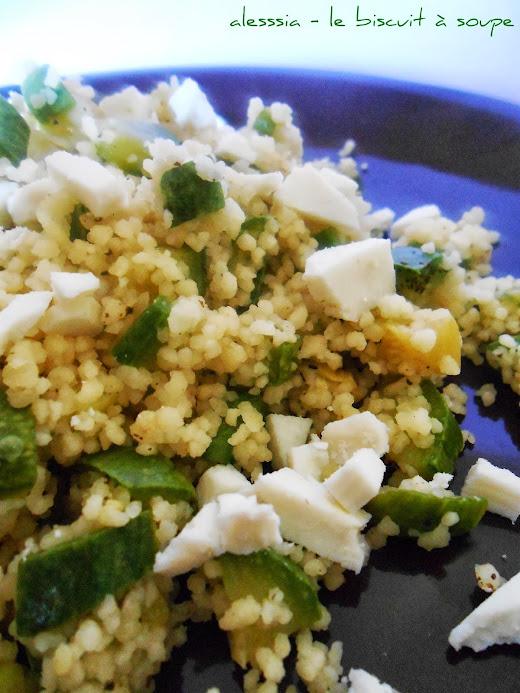 Cous Cous alle zucchine e ricotta salata