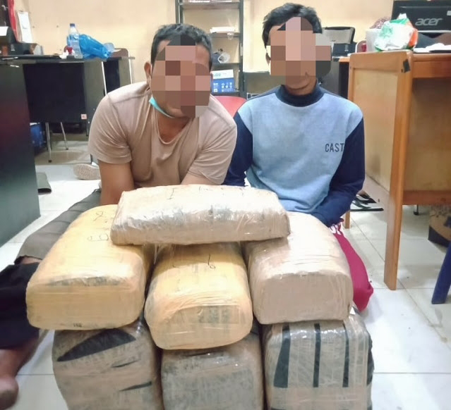 Satres Narkoba Polres Aceh Tamiang Gagalkan Warga Aceh Timur Transaksi Narkoba 19,2 Kg