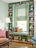Những góc đọc sách khiến ai cũng ước ao - Thi công trang tri nội thất