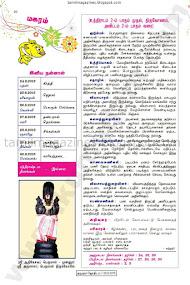 Tamil Raasi Palan 2015 from Kumudam Jothidam