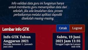 PENGUMUMAN BARU Buat Guru, Ada yang Berubah Soal Bantuan Subsidi Upah (BSU) Guru Honorer 2021, Cek Akun INFO GTK!