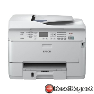 Reset Epson WorkForce WP-4532 End of Service Life Error message