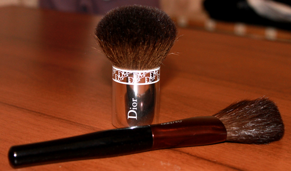 Powder Brush Dior and Shiseido
