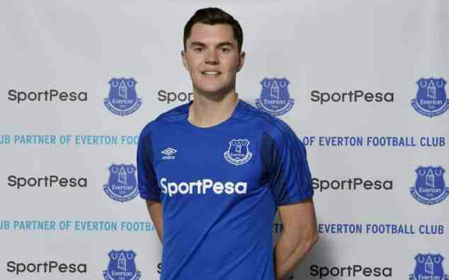 Everton sign Michael Keane for club-record £30m