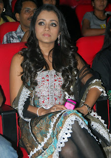Trisha at Teen Maar Audio Launch
