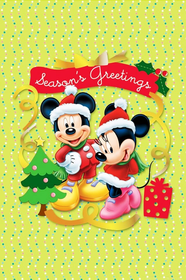 disney christmas wallpapers for iphone4