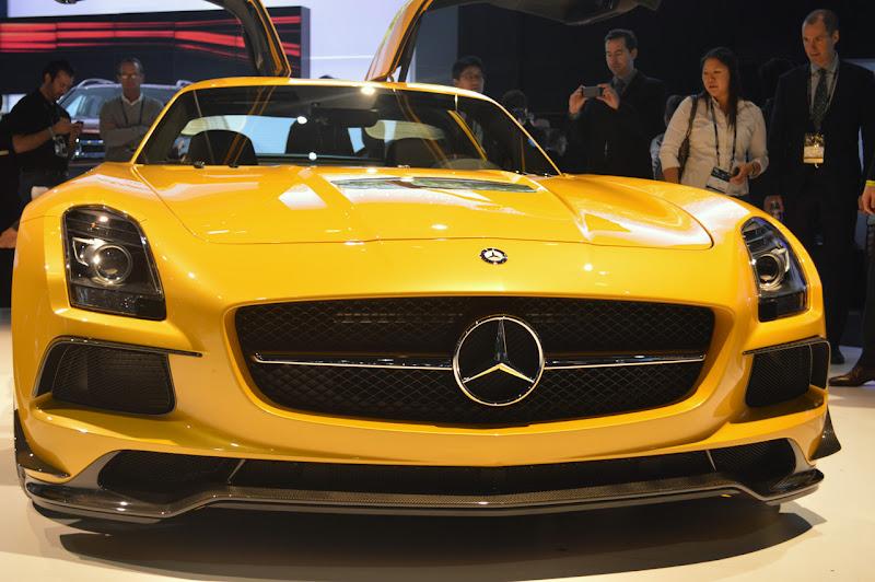 The 2014 MercedesBenz SLS AMG Black Series Proves that Less is