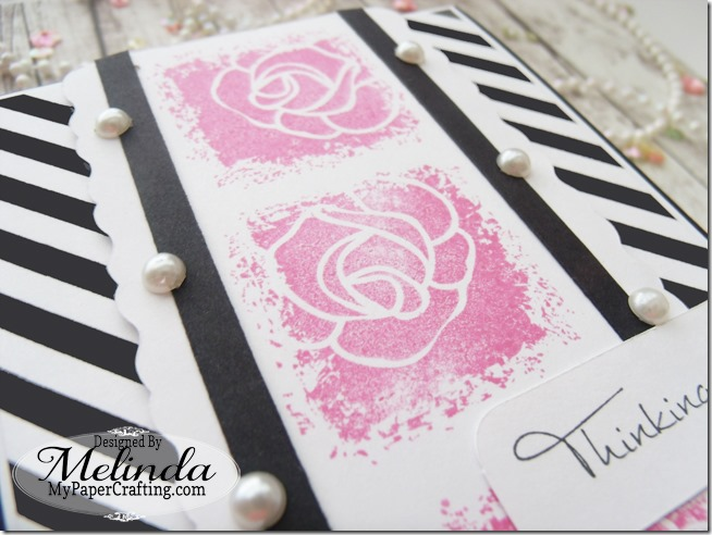 FSJ Fun Stampers Journey Flower Rose Stamp Card Idea