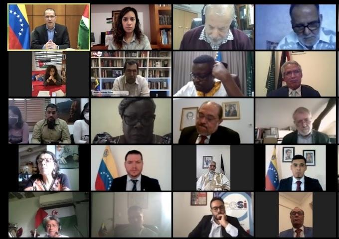 Discurso íntegro del Ministro Saharaui de Exteriores en el Foro latinoamericano y caribeño de Solidaridad con el pueblo saharaui.