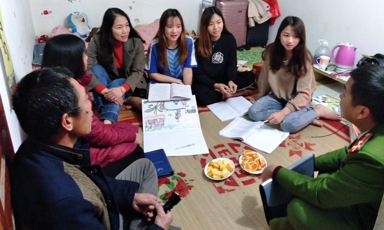 Phân hiệu Đại học Thái Nguyên tăng cường công tác kiểm tra sinh viên ngoại trú trước Tết Nguyên đán Tân Sửu 2021