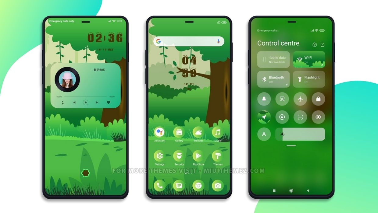 Jungle Life MIUI Theme