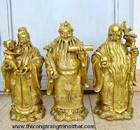 Cấm kị đặt tượng Phúc Lộc Thọ đuổi Tam tinh khỏi nhà - THI CÔNG NỘI THẤT