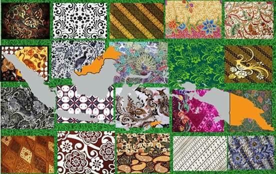 Aneka ragam batik indonesia
