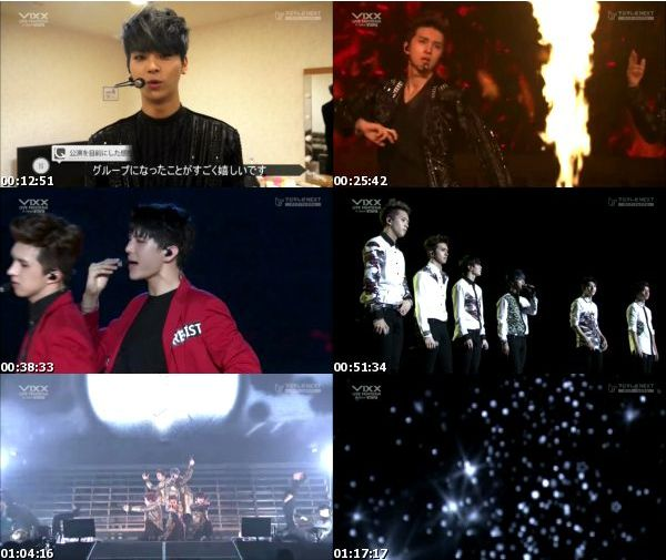 "[TV-Variety] VIXX LIVE FANTASIA in Japan ""UTOPIA"" (Fuji TV NEXT 2015.05.24)"