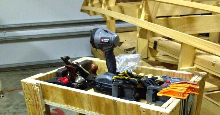Small boat restoration sbr tool cart for Outboard motor dolly harbor freight
