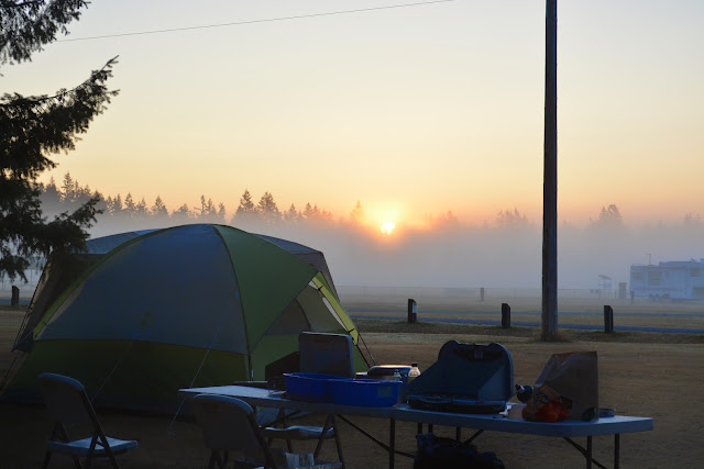 Talk about a sunrise!