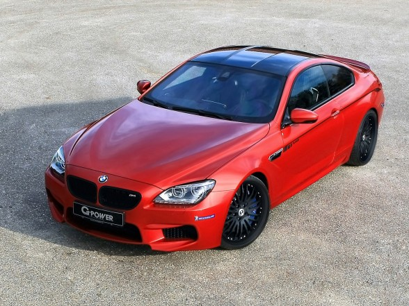 2013 BMW M6 F13 by G-Power - Front Angle Top