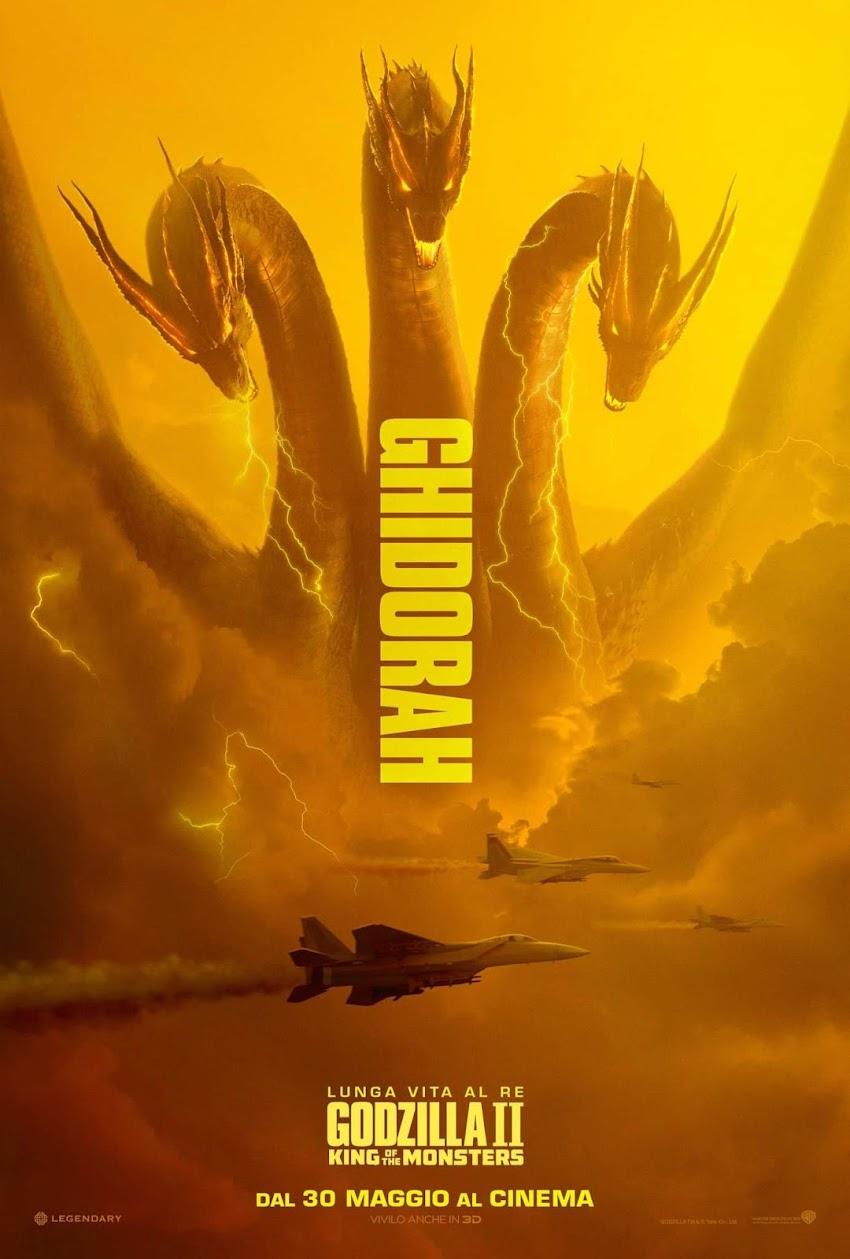 Godzilla II: King Of The Monsters! Dal 30 Maggio Al Cinema