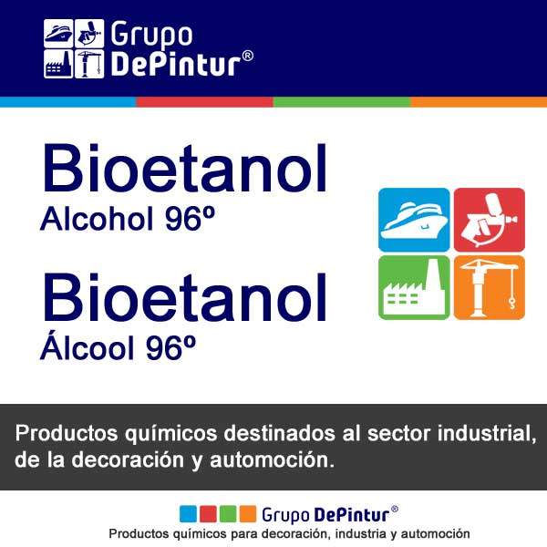 BIOETANOL - ALCOHOL 96º