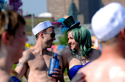 The Coney Island Mermaid Parade draws out all types of people. It is truly a world class event that could only exist in New York.