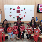 Red Day Celebration by Nursery Section (2018-19), Witty World, Goregaon East