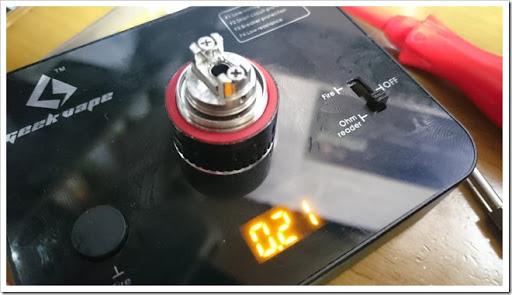 DSC 0876 thumb%25255B4%25255D - 今日のビルド:チタン28Gのビルド練習中。温度管理難しい、、、