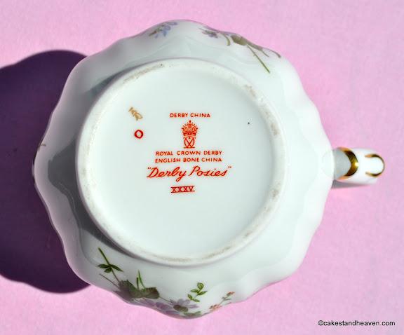 Royal Crown Derby Posies c.1972 Backstamp