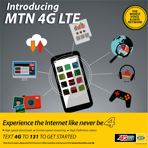 MTN and GLO Launch 4G Services In Selected Nigerian Cities 1