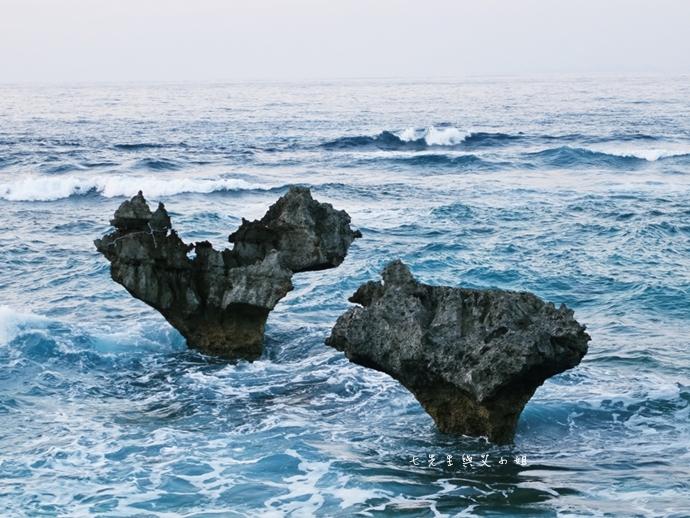 16 日本沖繩租車自由行 古宇利大橋 心型岩