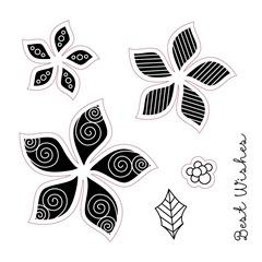 pretty pointsettia stamp 5cb89378-56ca-4c72-a189-ae1e1959aa05