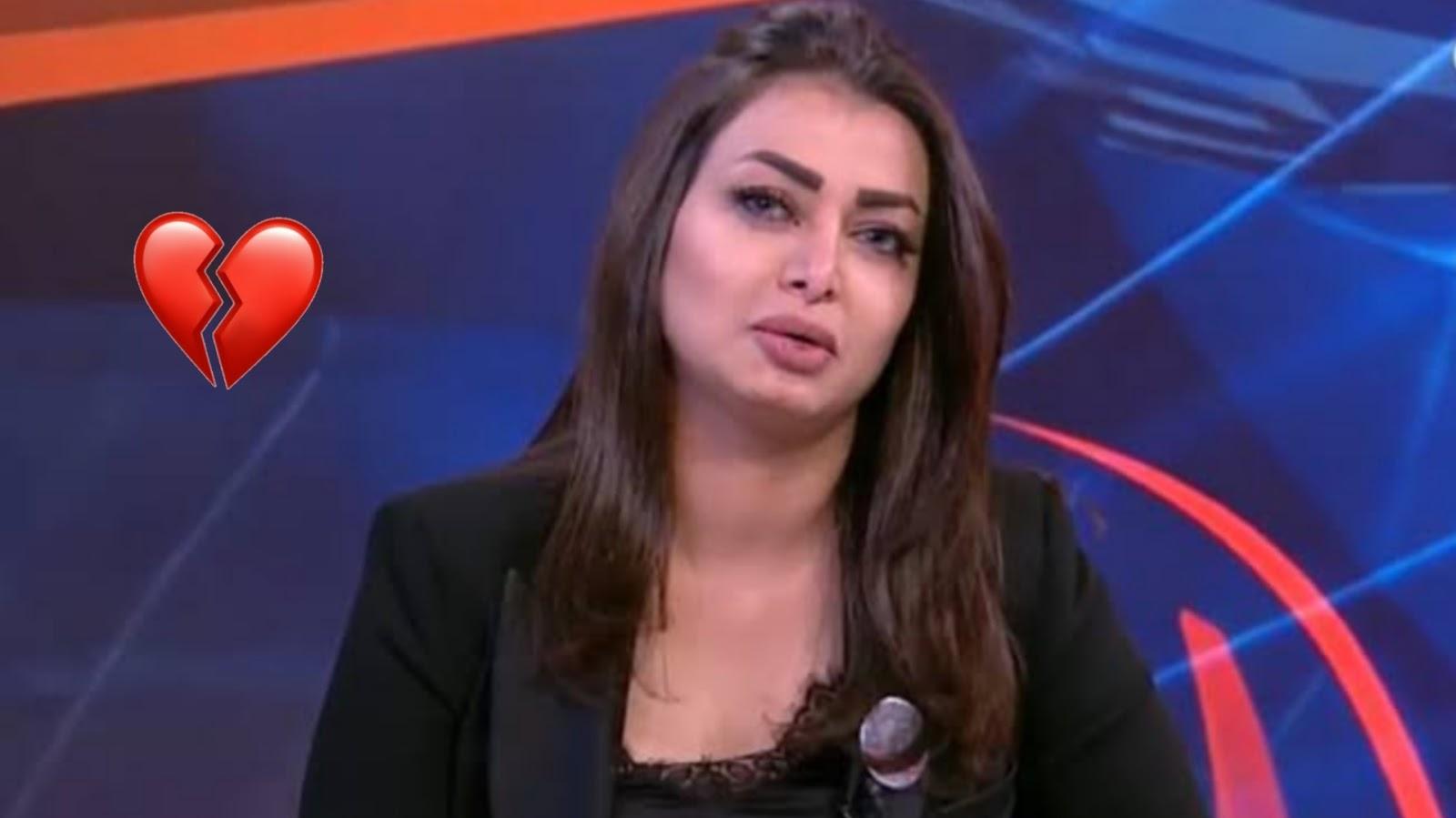 إعلامية عراقية سحر عباس تتلقى خبر مقتل شقيقها على الهواء ... وبكاء المذيعة