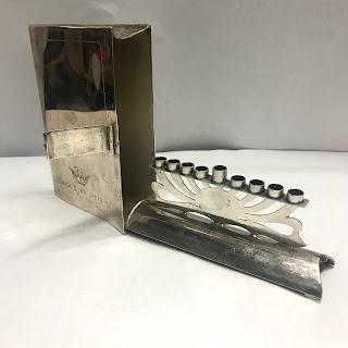 Sterling Silver Menorah