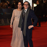 OIC - ENTSIMAGES.COM - Stephen Woolley and Elizabeth Karlse at the  EE British Academy Film Awards 2016 Royal Opera House, Covent Garden, London 14th February 2016 (BAFTAs)Photo Mobis Photos/OIC 0203 174 1069