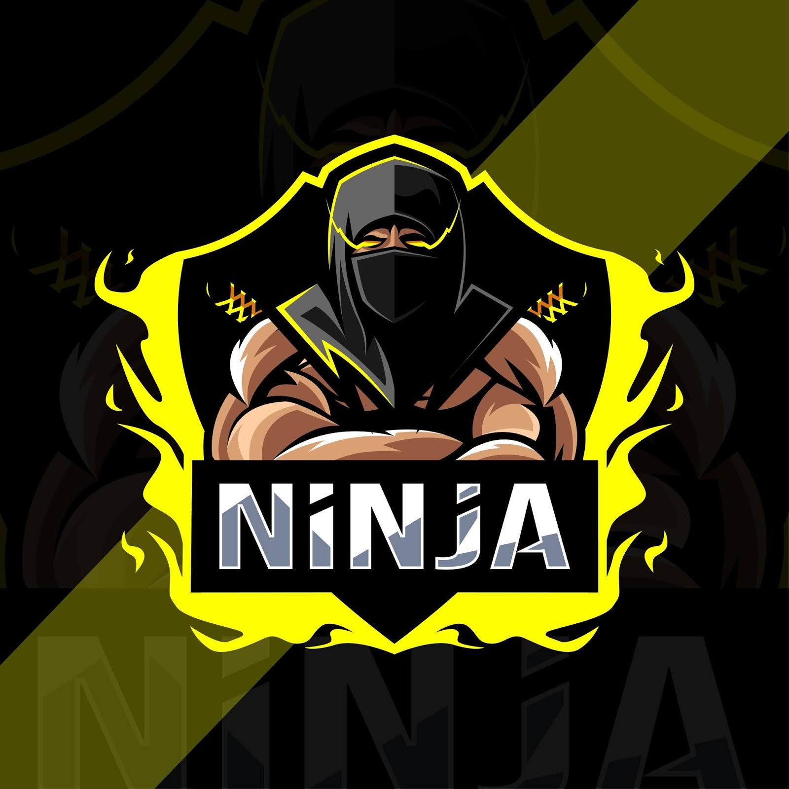 Ninja Mascot Logo Esport Design Free Download Vector CDR, AI, EPS and PNG Formats