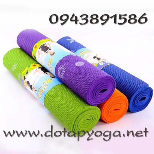 thảm tập yoga giá bao nhiêu
