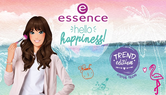 essence Hello Happiness Header Trend Edition LE Pinsel