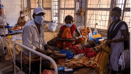 مرض غامض في الهند مئات المصابين
