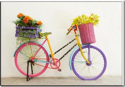 imágenes de bicicletas con flores (16)