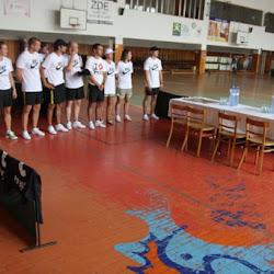 Zahájení fotbalového kempu Michala Kadlece