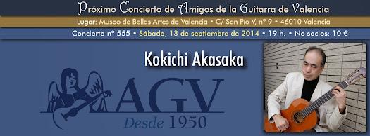 Concierto de Kokichi Akasaka