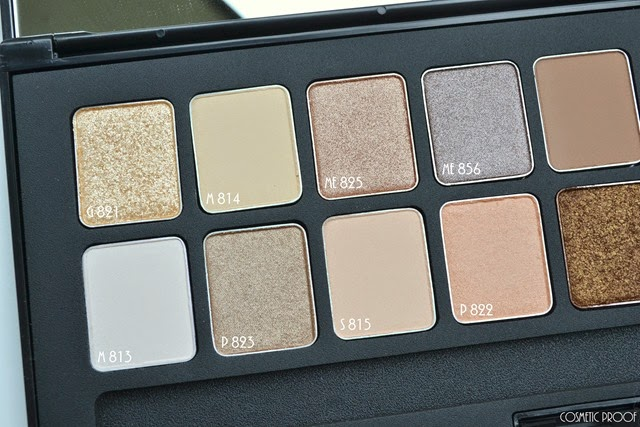 shu uemura 16 shades of nude eyeshadow palette swatches review (3)